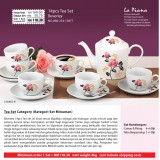 Beverley 14pcs Tea Set